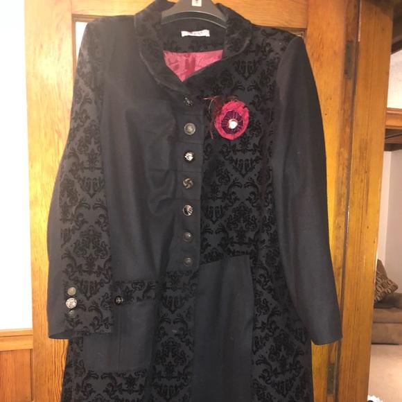 5a5c3c1d3a9d4 Joe Browns Jackets   Blazers - Joe Brown Women s Black Asymmetrical Coat  Size 28